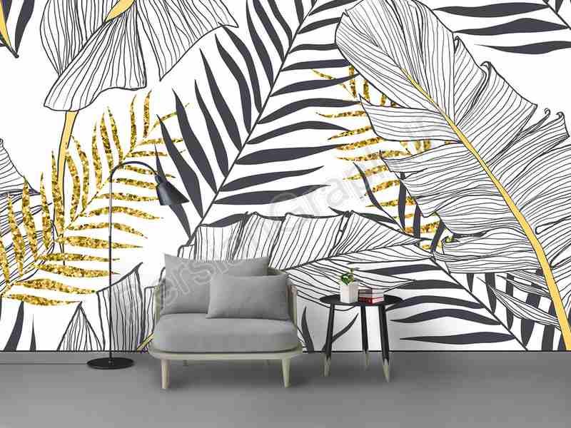 طرح کاغذ دیواری سفید 3d قو گل مروارید زمینه دیوار مروارید