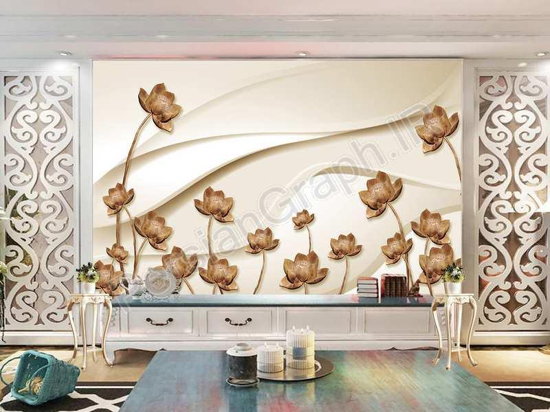 طرح کاغذ دیواری مدرن مینیمالیستی 3d استریو مرغ دریایی تلویزیون دیوار پس زمینه