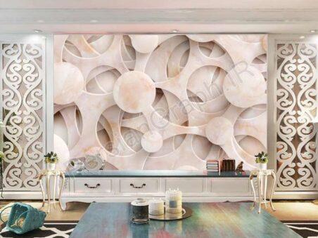 طرح کاغذ دیواری نوردیک درخت مدرن شاخه های هندسی دیوار زمینه هندسی